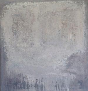 kalksteen - 110x105 - olieverf