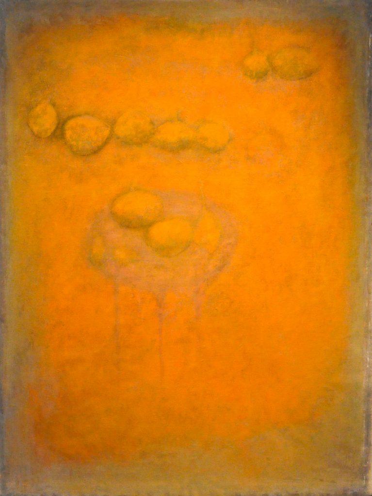 warm licht - 158x120 - acryl