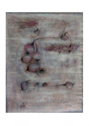 rode uien - 158x120 - acryl