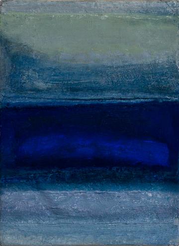 blue - 34x24 - olieverf