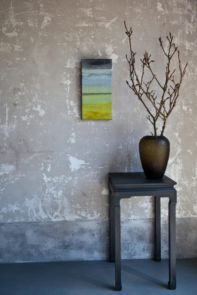 schilderijpastelgreen50x25
